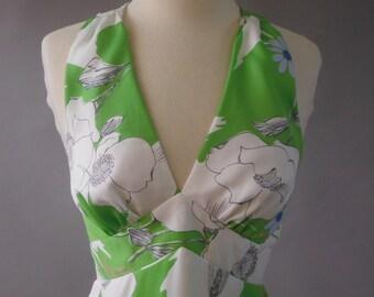 Tori Richard of Honolulu Fabulous Halter Dress! Size 10