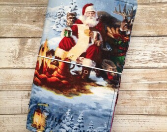 Christmas Fauxdori - Santa Traveler's Notebook