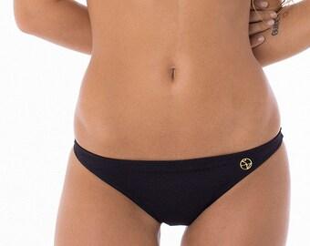Maeva low-rise Bikini bottoms - Black