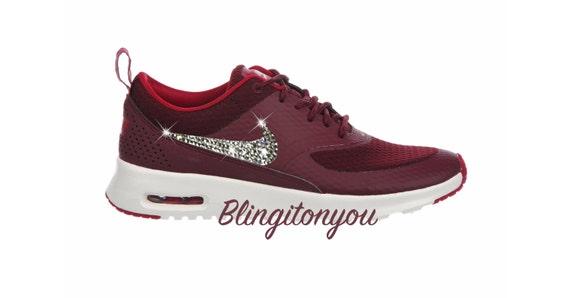 Simple Maroon Nike Shoes Womens