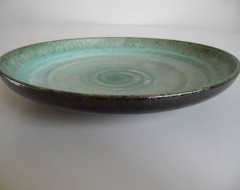 Large german Carstens pottery bowl,number 1004,Vintage collector pottery bowl,Carstens german ceramic Atelier