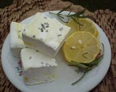 Rosemary lemon marshmallows dessert candy buffet tea party favor shower wedding treats handmade savory citrus herb sweet gift