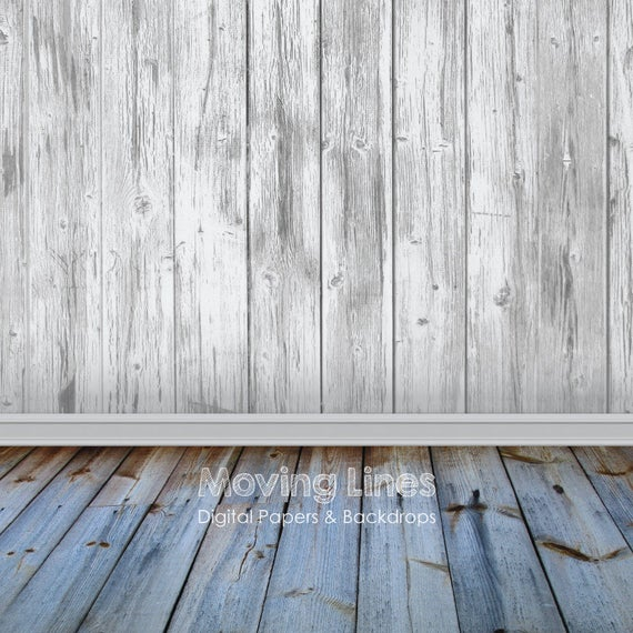 White wall baby photography backdrop wood floor printable for Hardwood floors and babies