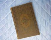 Vintage Altered Book | Hauff Art Journal | Handmade Junk Journal | LARP Spell Book | Book of Shadows