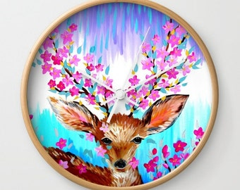 deer print, deer prints, deer art, prints of deer, fawn, deer, deer gift, deer present, deer gifts, presents with deer, prints of,fawns,pink