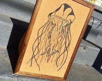 Jellyfish Cork Board