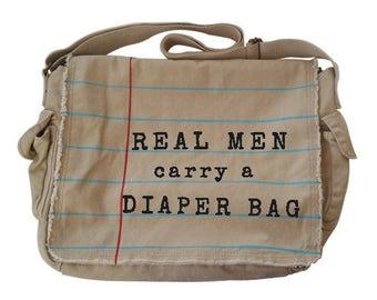 Diaper Bags for Dad! Messenger bag, diaper bag, book bag, teacher bag, back to school bag. New dad gift, teacher gift, nerd gift, geek gift.