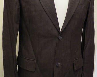 Top of the Range Dark Brown Linen Suit (by Tiger of Sweden)