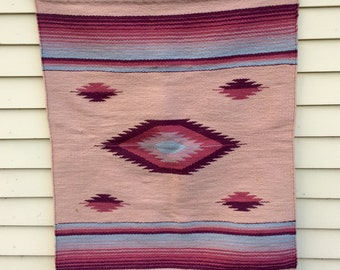 Southwestern Navajo Style Hanging Wall Tapestry