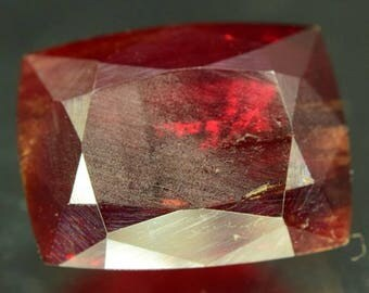 19.35 ct Natural Extremely Rare Gemstone Tantalite from Afghanistan  - 13.68 x 10.24 x 6.5mm