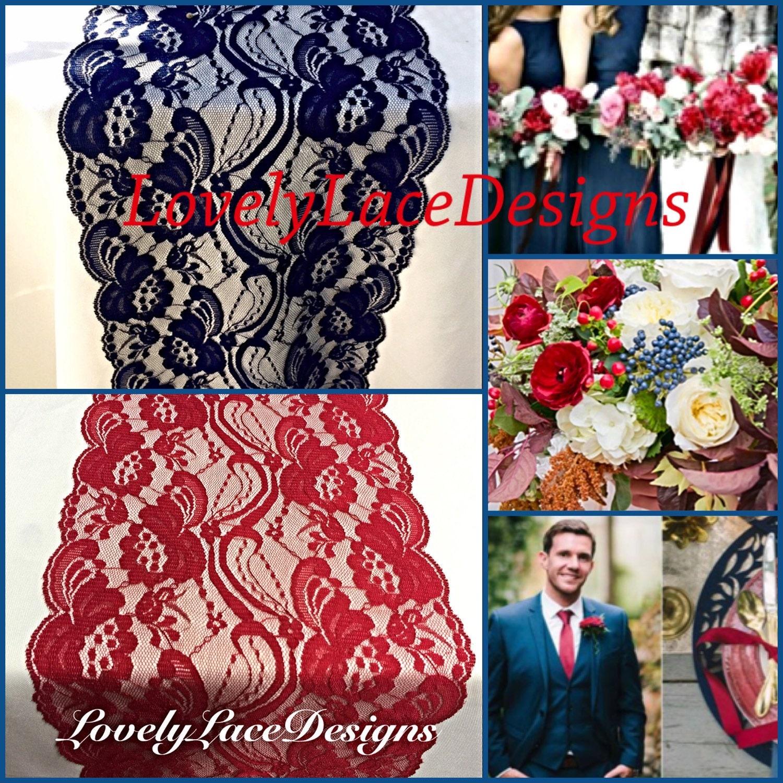 Beautiful Blue Red Wedding Decorations – Wedding