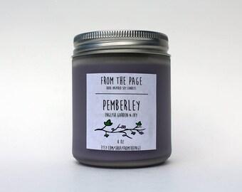 Pemberley Soy Candle - 8 oz