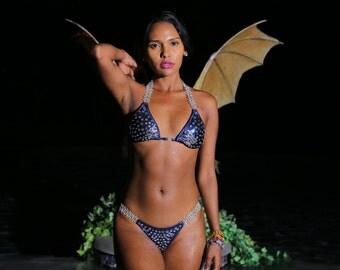The Jessica Fitness Bikini With Swarvorski Crystals