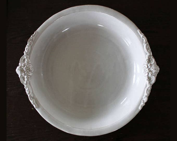 Large Baroque Serving Bowl