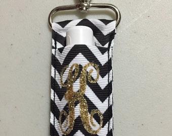 Personalized Chapstick Holder/Keychain