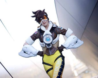 Overwatch: Tracer Armor Kit (Arms Only) - Handmade