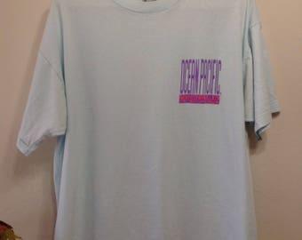 1991 Ocean Pacific World Team T-Shirt - Op Surf T-Shirt - Ocean Pacific Surf Beach T-Shirt - Oversized Ocean Pacific T-Shirt XL