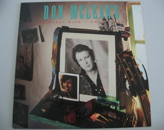 Don McLean  -  Greatest Hits Then & Now - Circa 1987