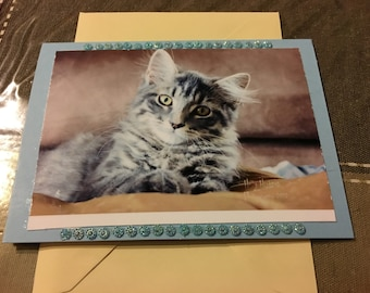 Greeting Card, Blank photo greeting card