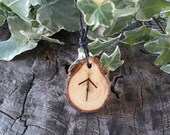 Rune Necklace - Rune Pendant -   Tiwaz - Talisman Necklace - Courage Necklace - Rune Jewelry