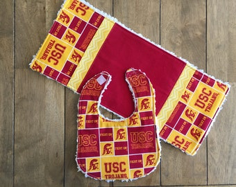 Baby Team Spirit - 2 pc set w/ USC fabric