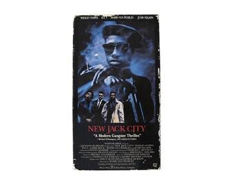 New Jack City VHS Mario Van Peebles Ice T Wesley Snipes Chris Rock