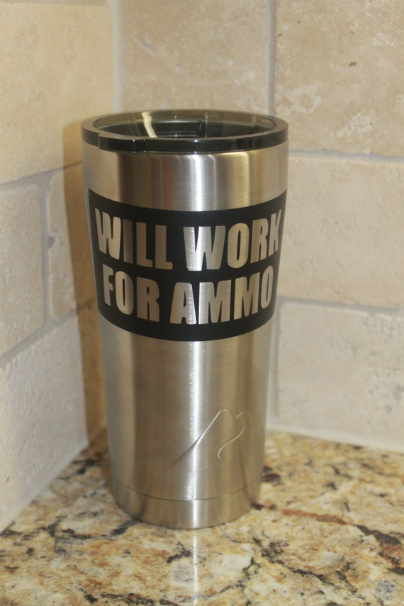 ammo, work, NRA Decal, Decals for men, 2 amendment decals, yeti decal, Navy, Marine, Army, gun, ammo, holster, vinyl sticker, truck, jeep,