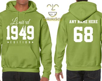 1968 Limited Edition B-day Hoodie 49th Birthday Gift Cool hipster swag mens womens ladies hooded sweatshirt sweater Unisex