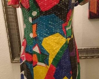 Multi colored sequin - Etsy