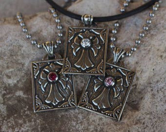 MOTHER'S DAY Queen Cross Pendant