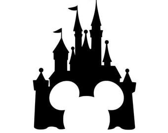 Mickey castle SVG, disney svg, mickey svg, mickey head svg, mickey, disney castle, castle svg, holiday svg,