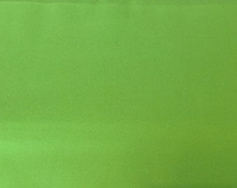 "Dark Lime Green Twill Fabric Finders 58"" Width"