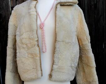 80's Shearling Jacket
