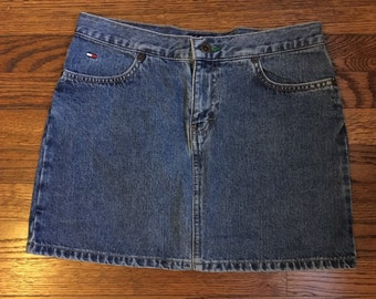 Tommy Jeans Jean Mini Skirt