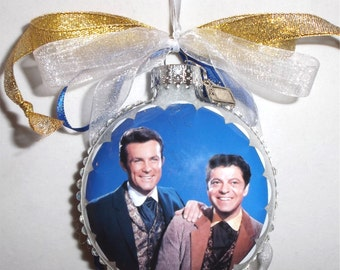 Wild Wild West Tv Show inspired Tribute Christmas Ornament