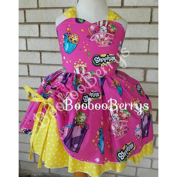 Shopkins Shopkins Dress Shopkins Birthday Outfit Shopkins