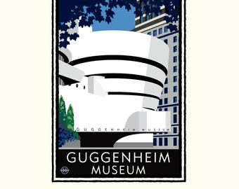 Landmark NY | Guggenheim Museum by Mark Herman