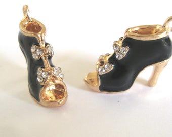 Black Shoe Charm,