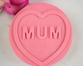Mum Soap - Pink, Pretty SLS Free Soap, Mother's Gift