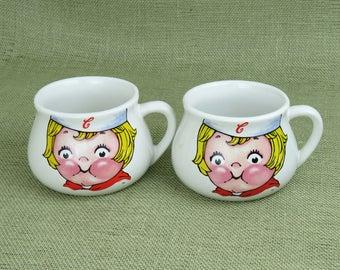 Campbell Soup Bowls - Vintage Soup Mugs