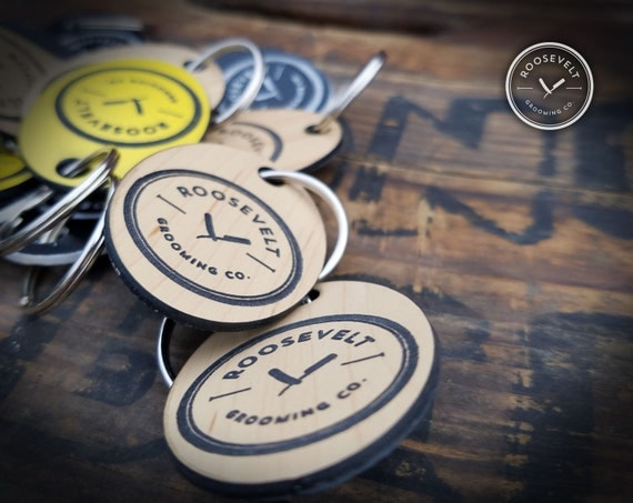 Roosevelt Grooming Company Keychains - Three Styles