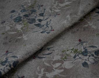 Japanese cotton, Taupe Fabric, DAIWABO TS23031S-F