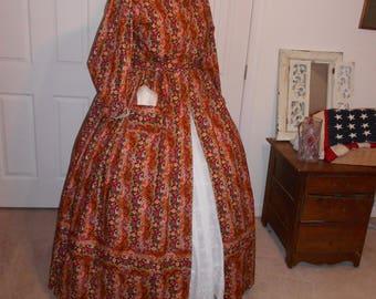 Civil War Wrapper Dress