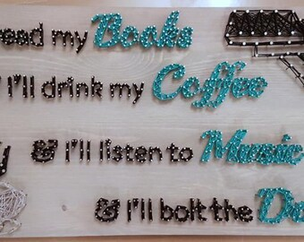 Quote String Art