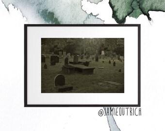 Horror GraveyardPhotography Print