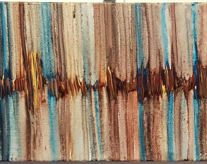 I love you to the Moon and Back Sound Wave Painting