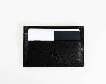 SLIM wallet leather card holder slim business credit card case