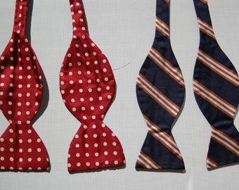 Vintage Brooks Brothers Bow Ties circa the 60's
