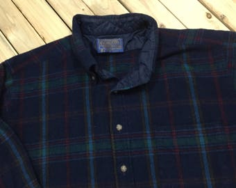 Pendleton Virgin Wool plaid shirt