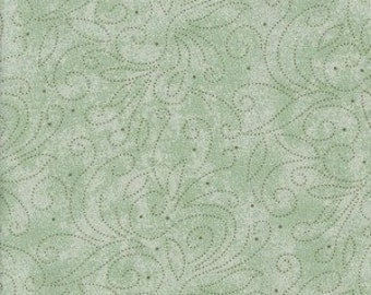 100% cotton, fabric, sage, green, dots, spots, quilt, quilt fabric, quilt backing, sewing